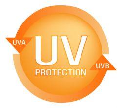 UV ochrana při opalování