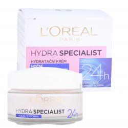 L'Oréal Paris Hydra Specialist 24H Noční krém pro všechny typy pleti 50 ml