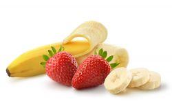 Jahody a banán - drink Mixit