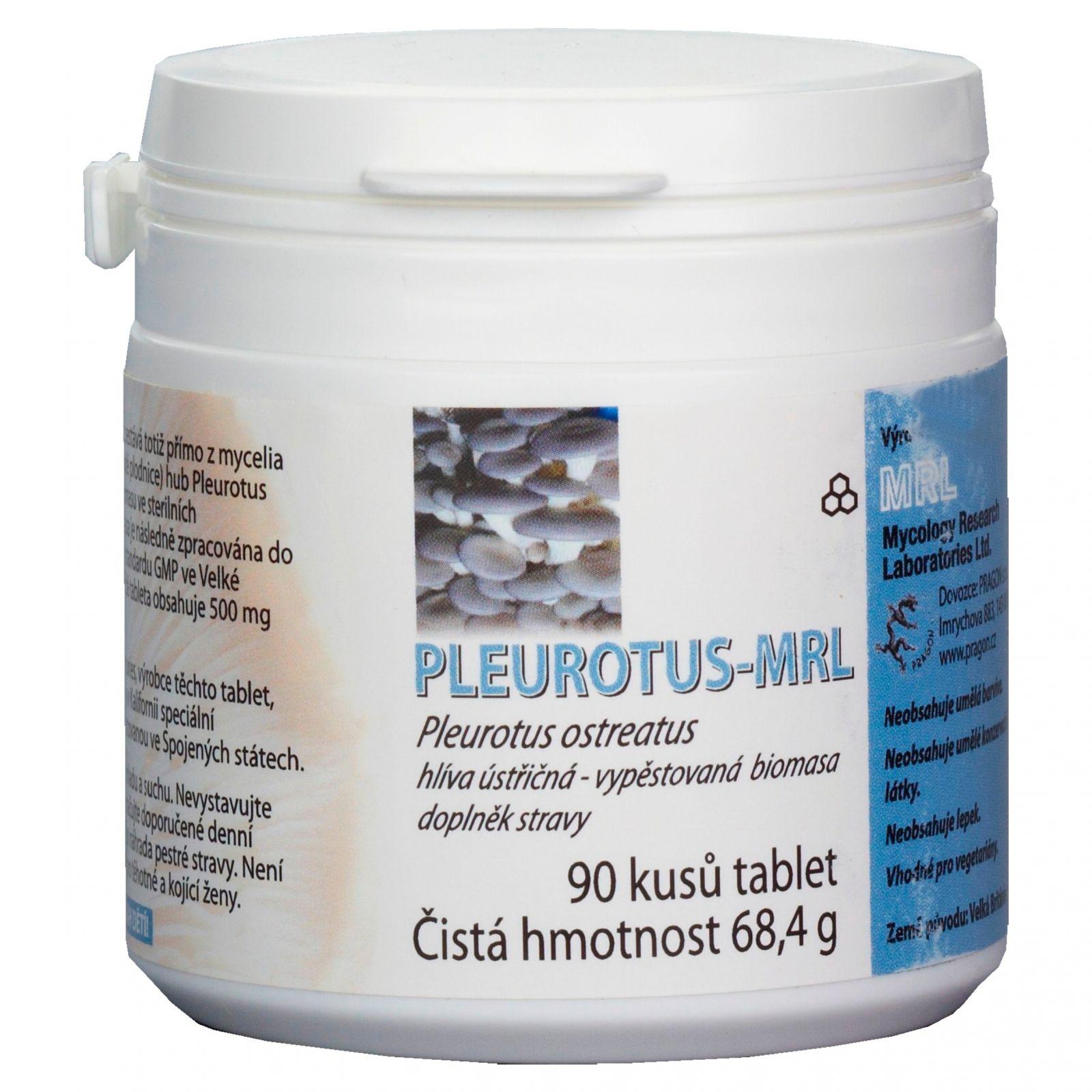 MRL Pleurotus Hlíva ústřičná 90 tablet