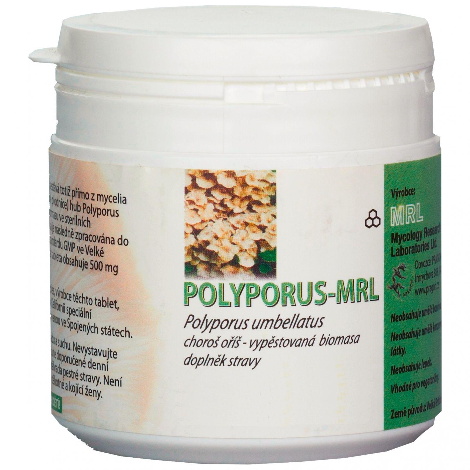 MRL Polyporus umbellatus - Choroš oříš - prášek 250 g