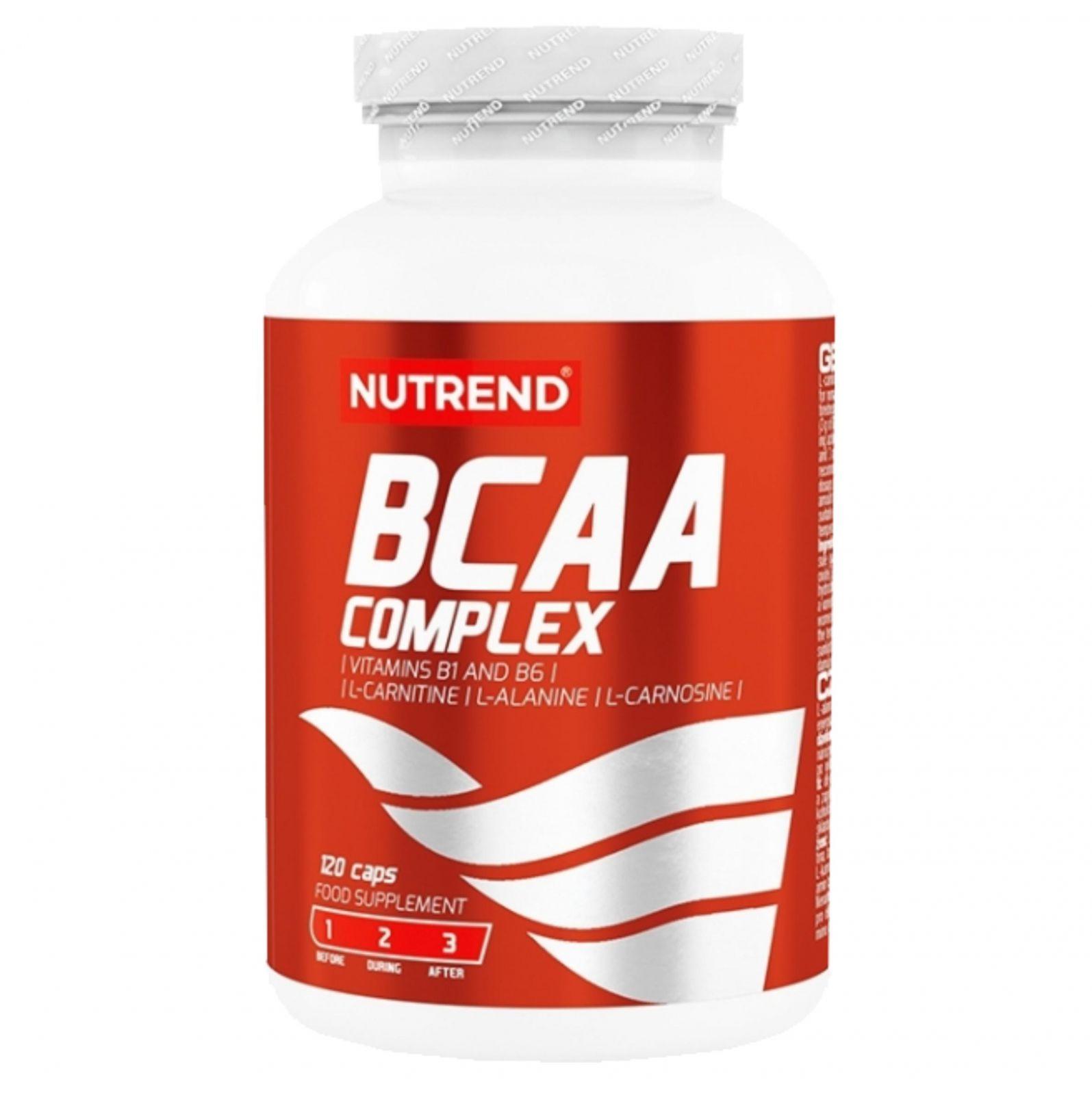 Nutrend BCAA Complex 120 kapslí