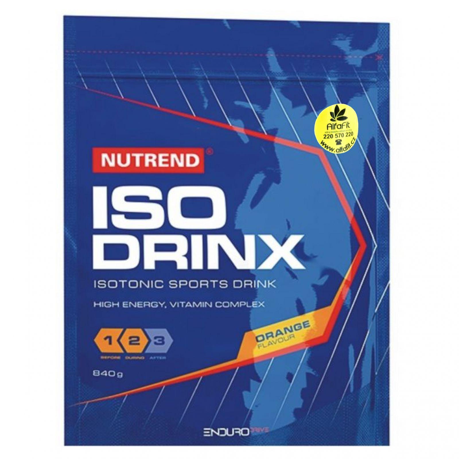 Nutrend ISODRINX isotonický nápoj 840 g