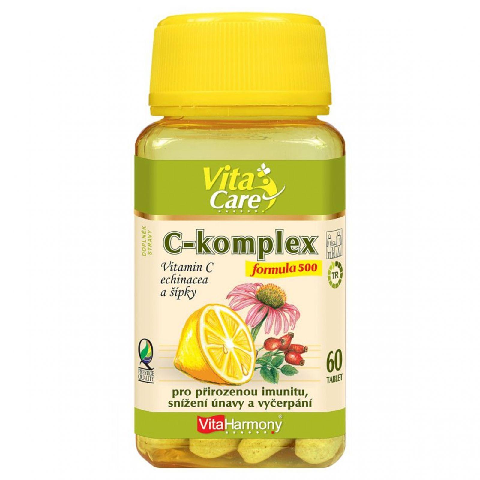 VitaHarmony C-komplex formula 500 - 60 tablet
