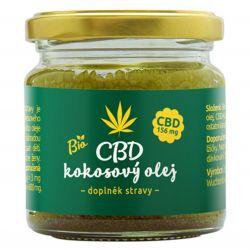 Zelená Země CBD Kokosový olej 30 ml