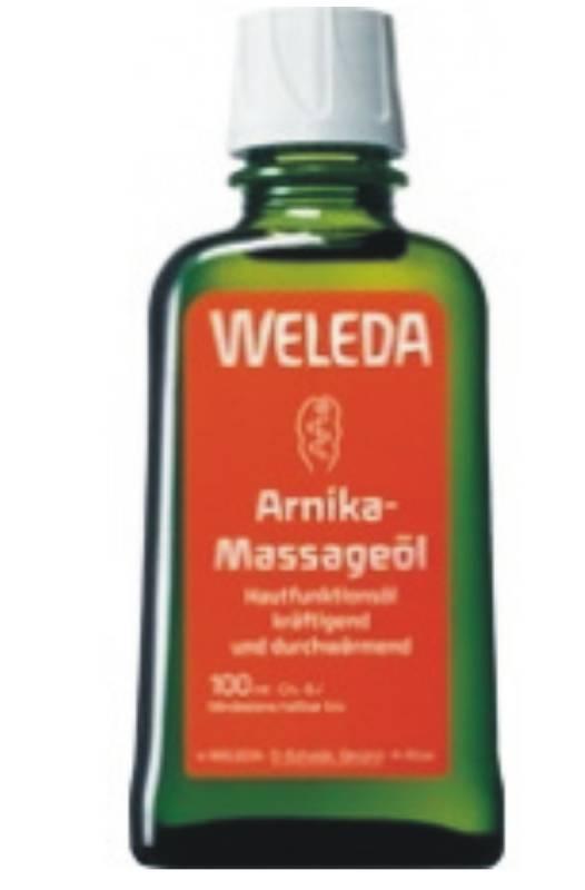Masážní olej s arnikou
