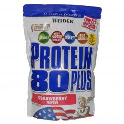 Weider Protein 80 plus 500 g ─ příchuť kokos SLEVA mírně poškozený obal