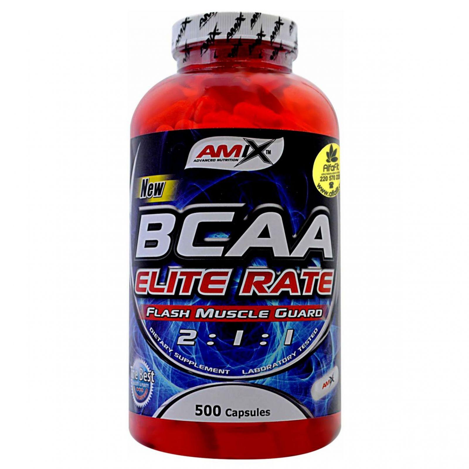 Amix BCAA Elite Rate 500 kapslí