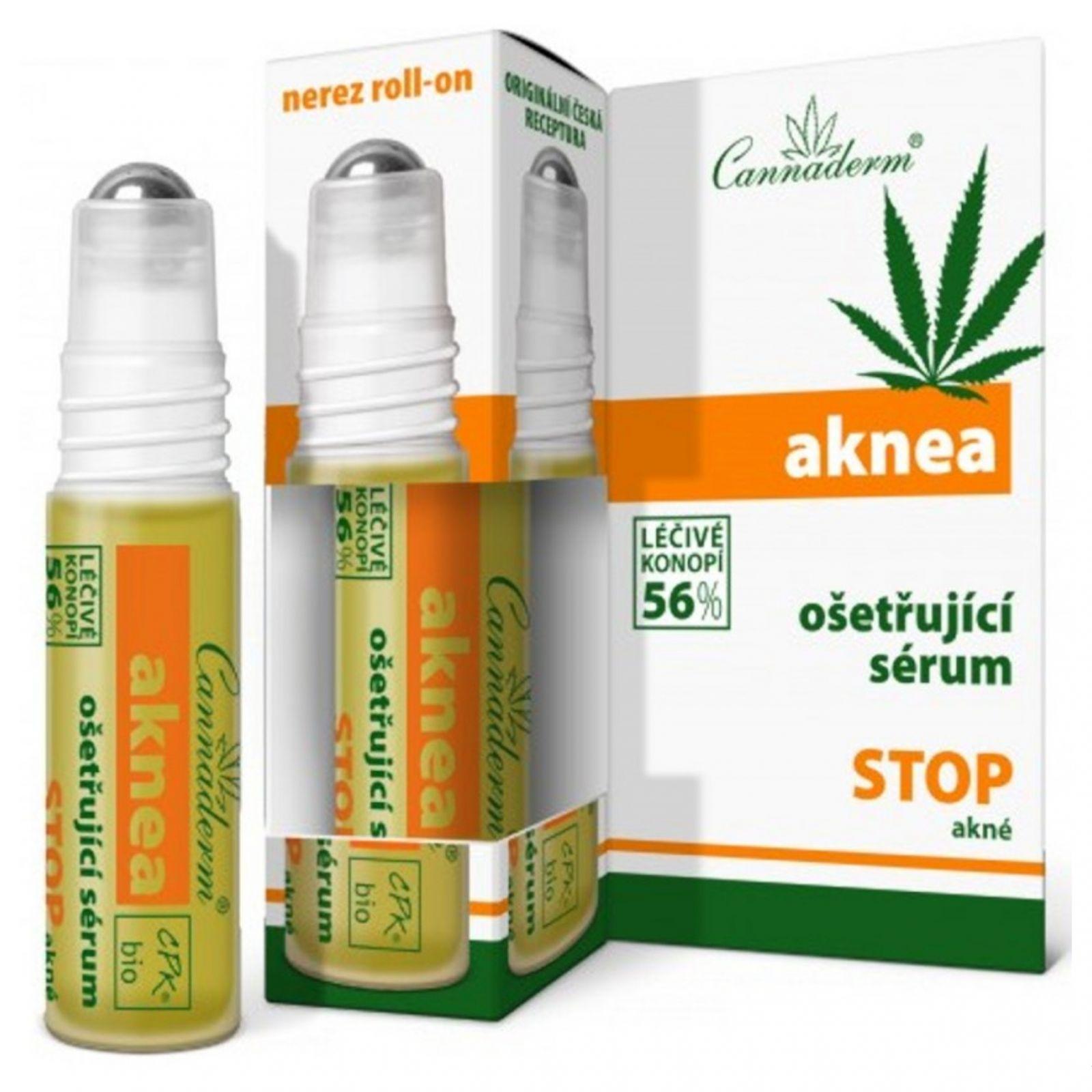Cannaderm Aknea ošetřující sérum při akné 5 ml