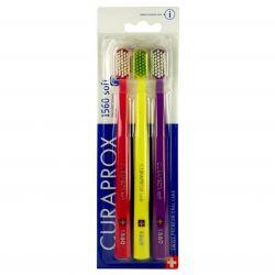 Curaprox CS1560 Soft zubní kartáček 3 ks