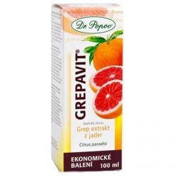 Dr. Popov Grepavit - extrakt z jader 100 ml