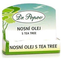 Dr. Popov Nosní olej s Tea Tree 6 ml