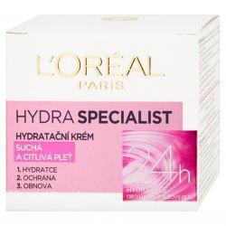 L´Oreal Paris Hydra Specialist hydratační krém 50 ml - suchá a citlivá pleť