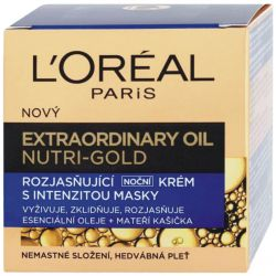 L'Oréal Paris Nutri-Gold Extraordinary Noční krém 50 ml