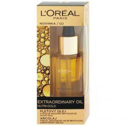 L'Oréal Paris Nutri-Gold Extraordinary Pleťový olej 30 ml