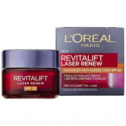 L'Oréal Paris Revitalift laser renew, denní krém s OF 20 – 50 ml