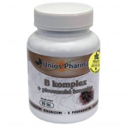 Unios Pharma B complex + Brewer's Yeast 90 tablets