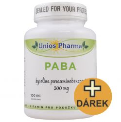 Unios Pharma PABA 300 mg ─ 100 Tabletten + ImunoFit GRATIS