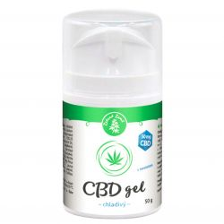 Zelená Země CBD chladivý gel s mentolem 50 g