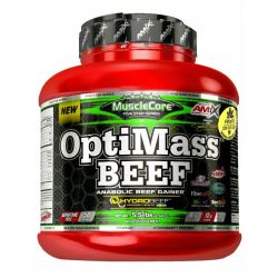 Amix MuscleCore OptiMass Beef Gainer 2500 g