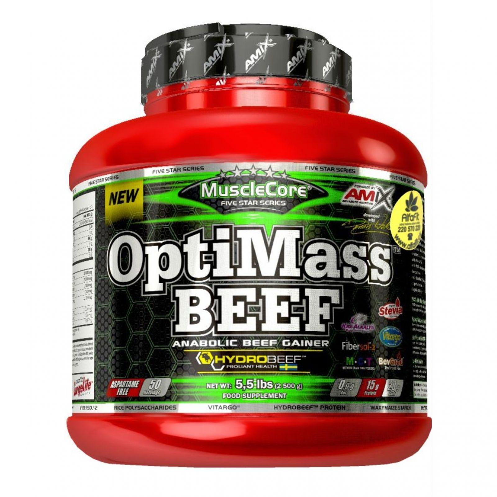 Amix MuscleCore OptiMass Beef 2500 g
