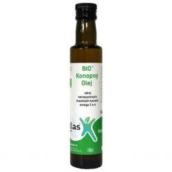 Klas Konopný olej BIO 250 ml