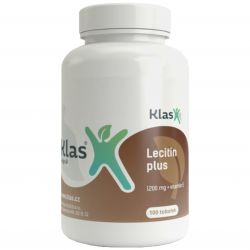 Klas Lecitin plus 1200 mg + vitamin E – 100 tobolek