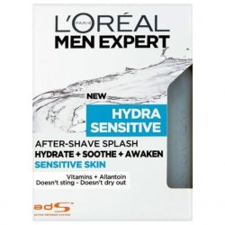 L´Oreal Paris Men Expert Hydra sensitive voda po holení 100 ml