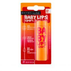 Maybelline Baby lips sport - červený