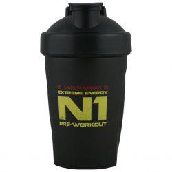 NUTREND Shaker černý N1 400 ml