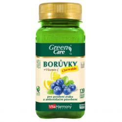 VitaHarmony Borůvky + vitamín C 120 žvýkacích tablet