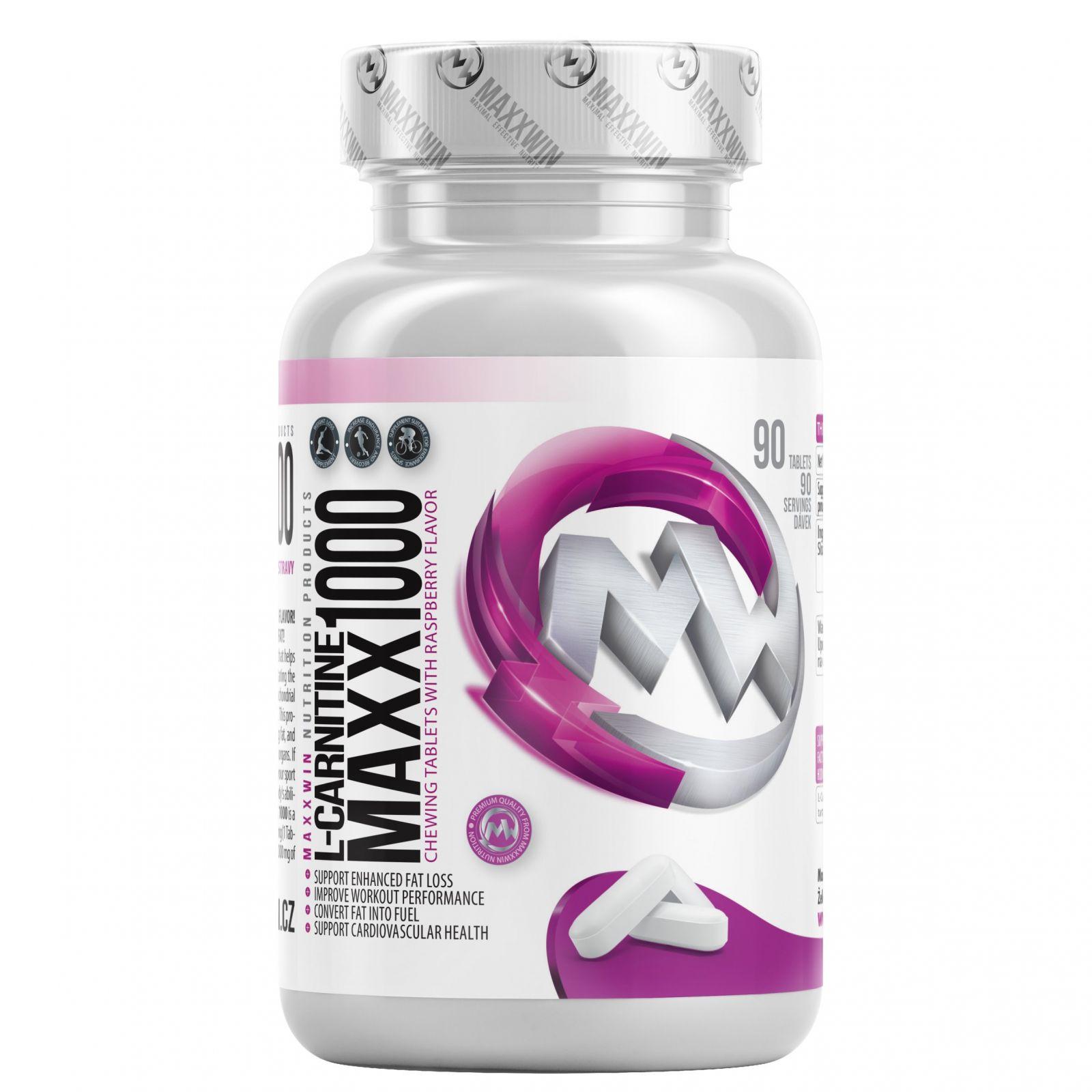 MAXXWIN L-Carnitine Maxx 1000 mg - 180 tablet