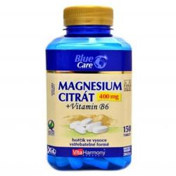 VitaHarmony Magnesium citrát 400 mg + vitamin B6 – 150 tablet