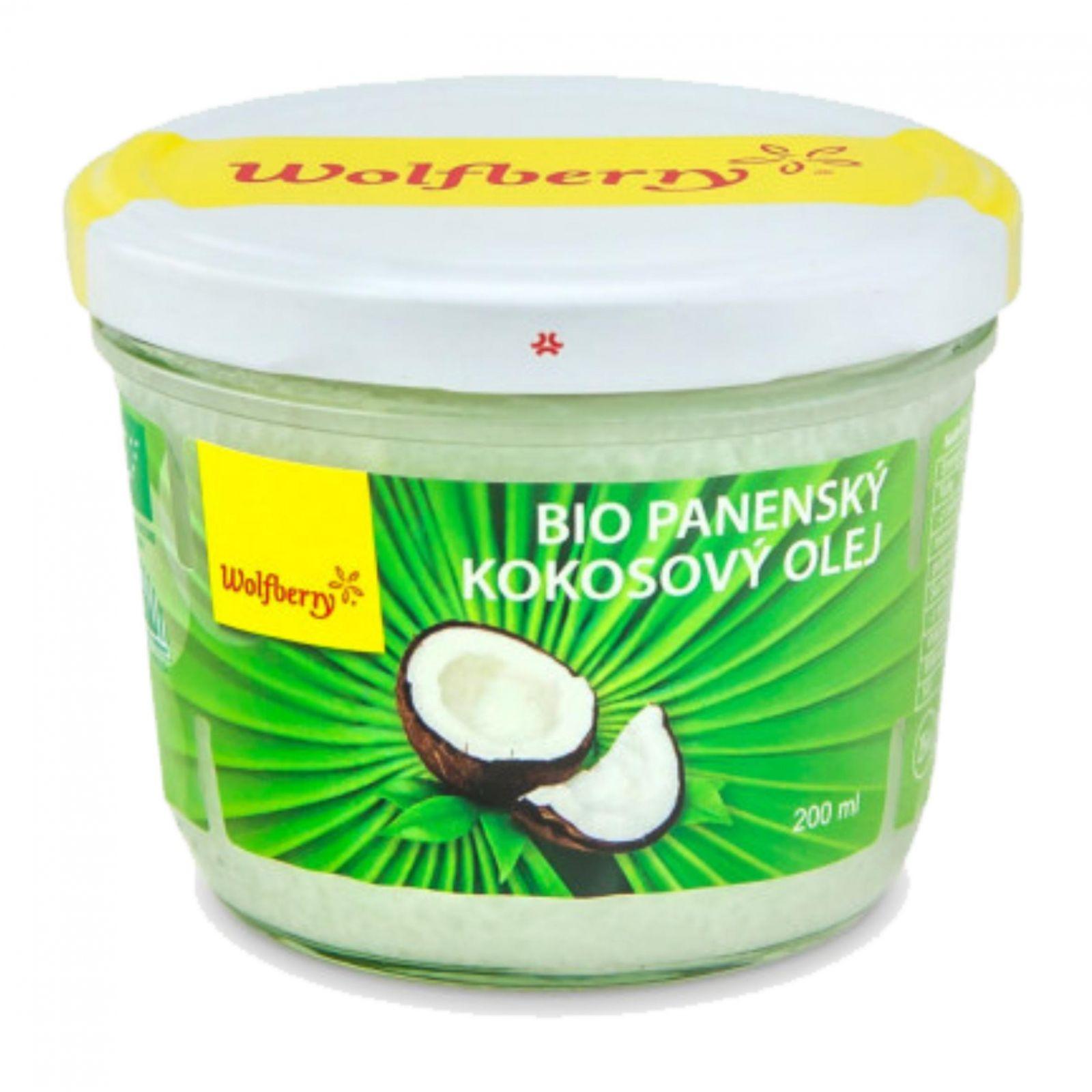 Wolfberry BIO Panenský kokosový olej 200 ml