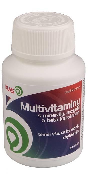 Klas Multivitamíny 60 tablet
