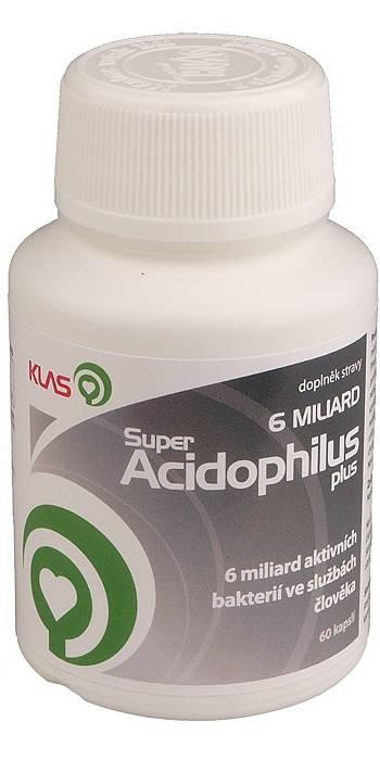 Klas Super Acidophilus plus 6 miliard 60 kapslí + doprava Českou poštou DR a NP nebo Zásilkovna ZDARMA