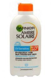 Ambre Solaire Opalovací mléko Sensitive OF 50+ 400 ml