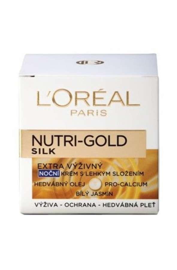 L'Oréal Paris Nutri-Gold SILK Extra výživný noční krém 50 ml