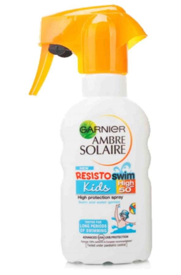 Ambre Solaire Opalovací mléko pro děti s pumpičkou OF 50+ 200 ml