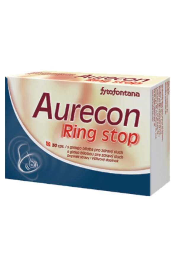 Herb-pharma Aurecon Ring stop 30 kapslí
