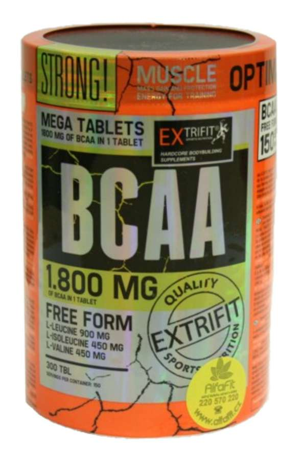 Extrifit BCAA 1800 mg - 300 tablet