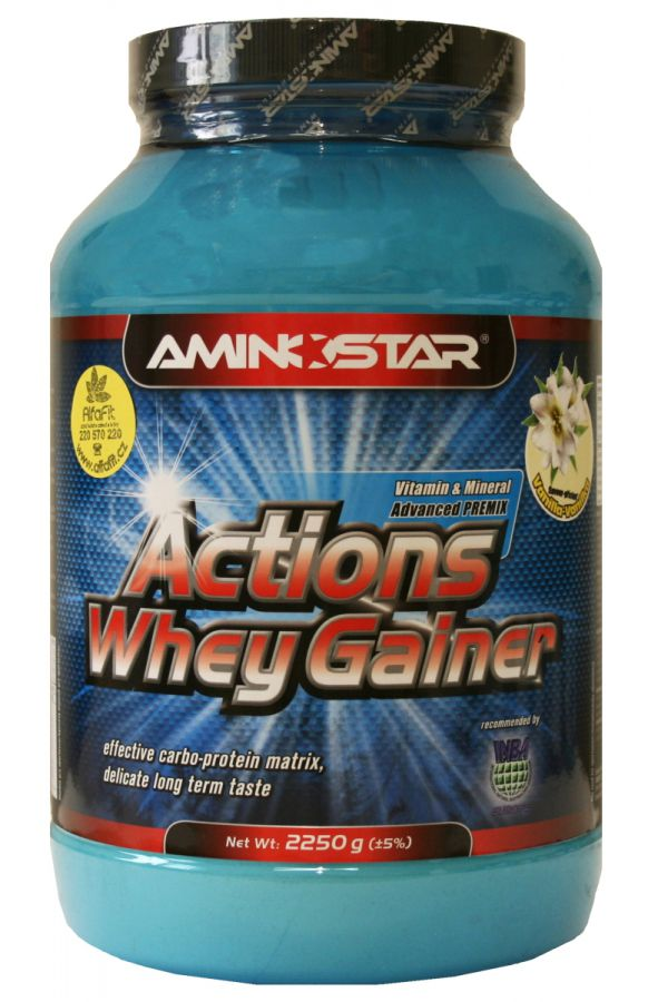 AMINOSTAR Actions Whey Gainer 2250 g
