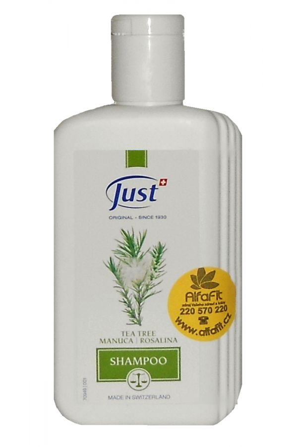 JUST Tea Tree šampon s manukou a rosalinou 250 ml