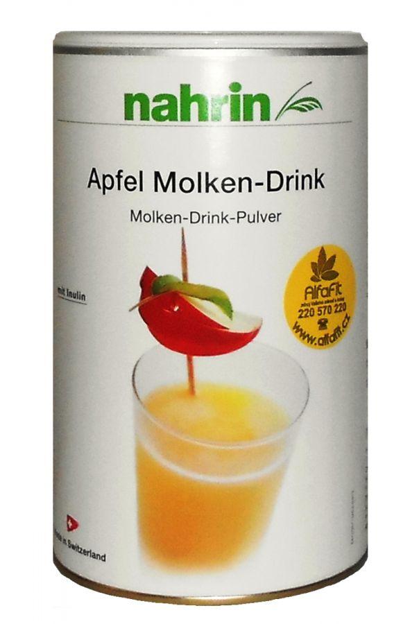 nahrin Jablečný syrovátkový nápoj 600 g