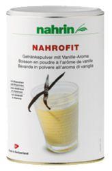 nahrin NahroFit Getränkepulver mit Geschmack Vanille 470 g