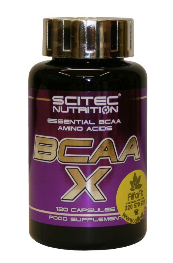 Scitec BCAA X 120 kapslí