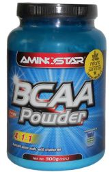 Aminostar BCAA Powder 300 g ─ Geschmack Orange