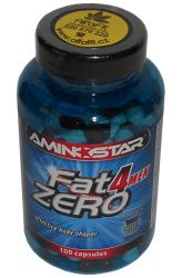Aminostar FatZero 4 Men 100 capsules