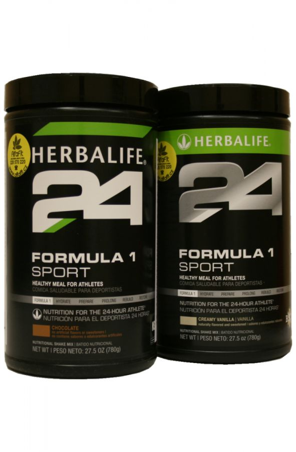 Herbalife H24 Formula 1 Sport sada 2x 780 g (+50% navíc oproti balení 550g)
