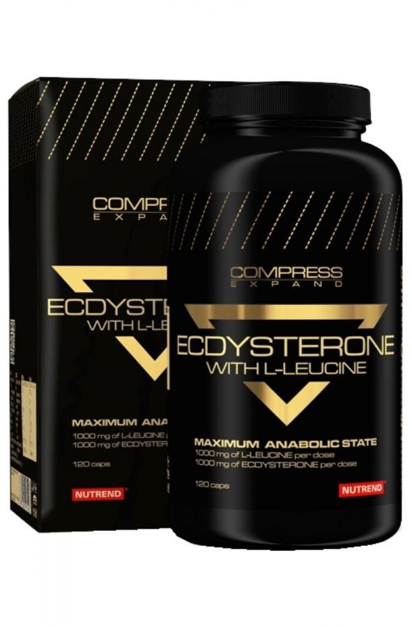 Nutrend Compress Ecdysterone 120 kapslí